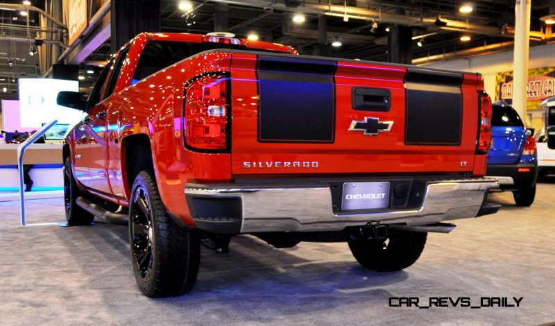 2015 Chevrolet Silverado Rally Sport and Custom Sport 10