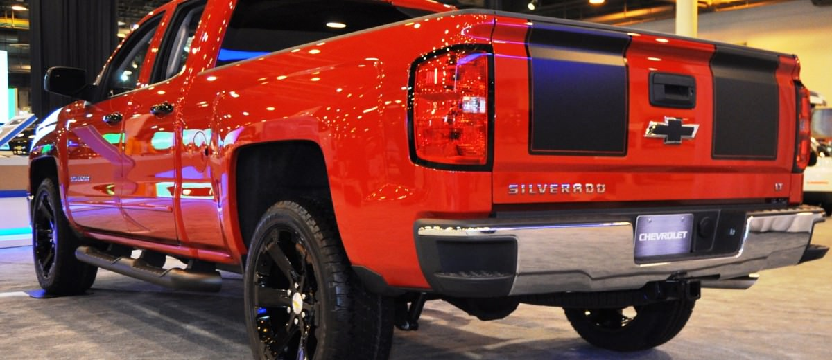2015 Chevrolet Silverado Rally Sport and Custom Sport 8