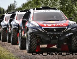 2015 Dakar Rally – Peugeot 2008 DKR – 100-Photo Action Gallery