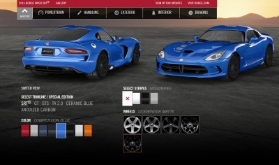2015 Dodge Viper COLORS 11
