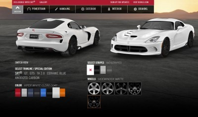 2015 Dodge Viper COLORS 13