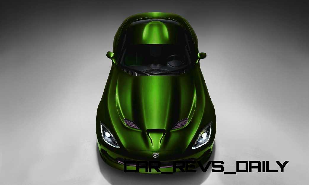 2015 Dodge Viper COLORS 155