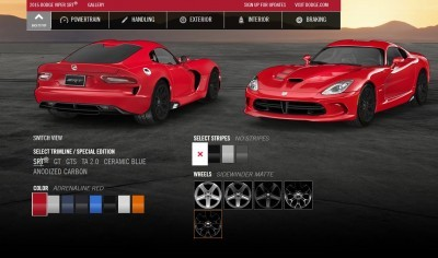 2015 Dodge Viper COLORS 3
