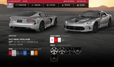 2015 Dodge Viper COLORS 4