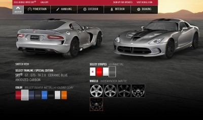 2015 Dodge Viper COLORS 6