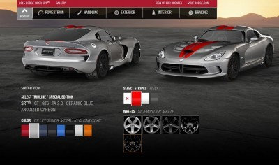 2015 Dodge Viper COLORS 7