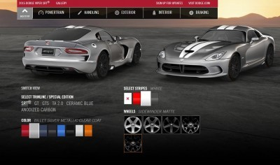 2015 Dodge Viper COLORS 8