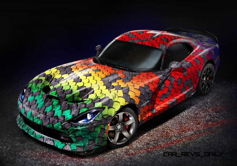 Ordinaire ... Dodge Is Giving Its Viper Flagship Supercar An Unprecedented Lev ...