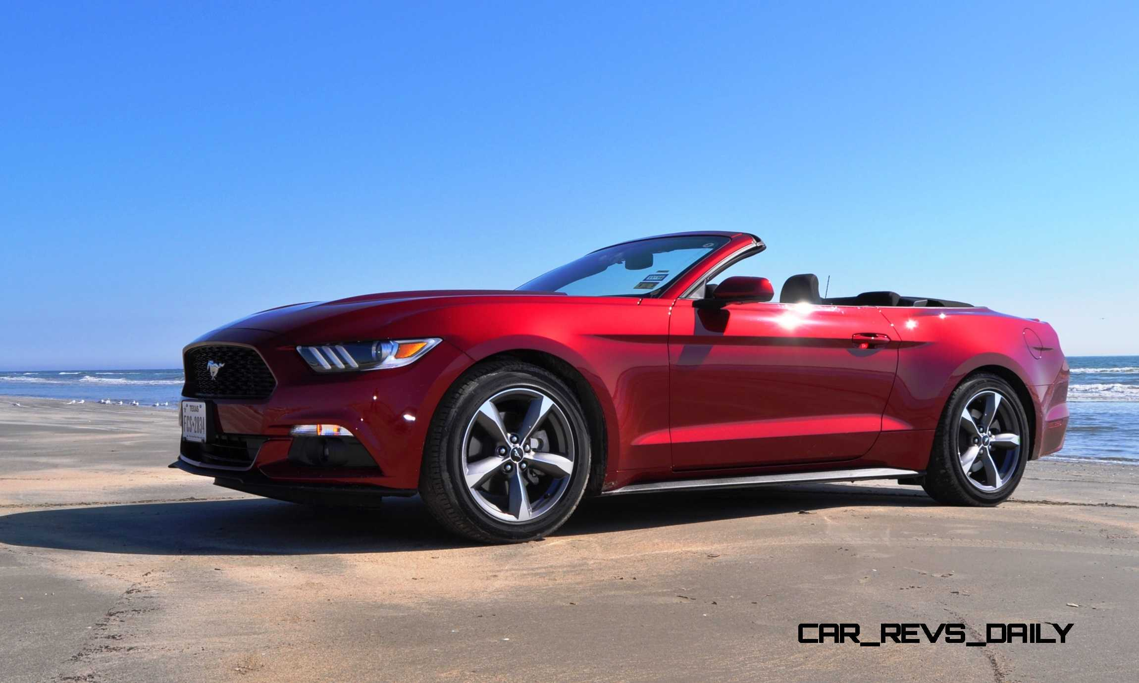 2015 mustang gt convertible road test autos post