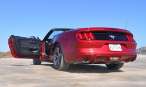 2015 Ford Mustang Convertible  5