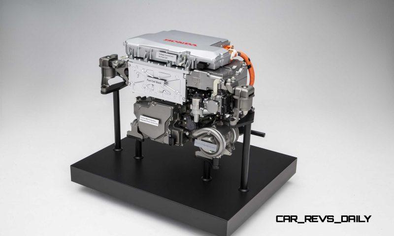 Honda FCV Concept Powertrain