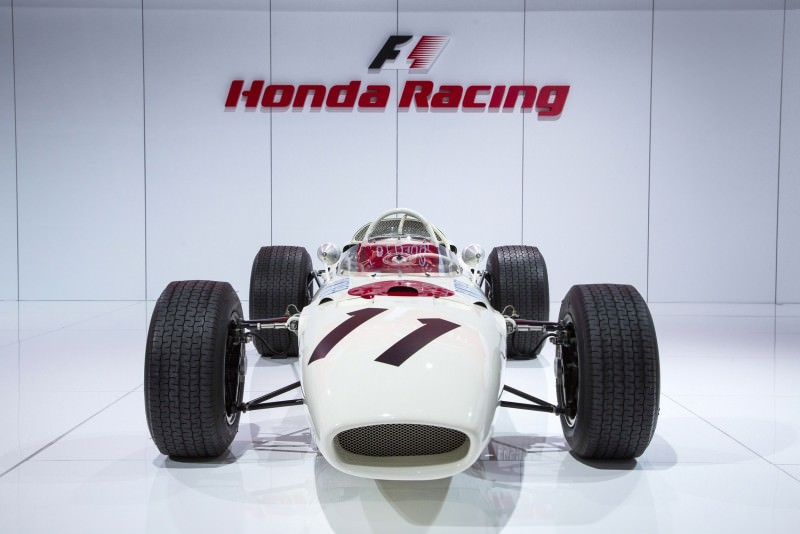 ''Year of Honda'' Display at 2015 NAIAS