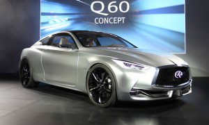 Infiniti reveals the Q60 Concept in Detroit