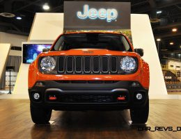Houston Auto Show – 2015 Jeep Renegade Inside and Out in 45 New Photos