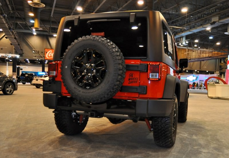 2015 Jeep Wrangler Willys Edition 19