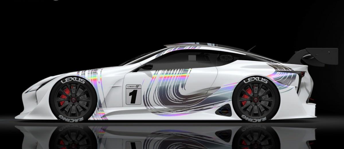 2015 Lexus LF-LC GT Vision Gran Turismo 12