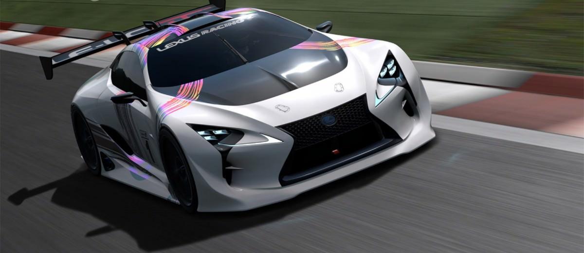 2015 Lexus LF-LC GT Vision Gran Turismo 14
