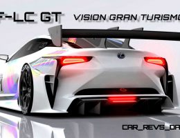 2015 Lexus LF-LC GT Vision Gran Turismo Is Race-Ready With Fantasy Gound-Effect Aero