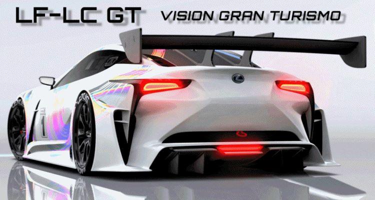2015 Lexus LF-LC GT Vision Gran Turismo