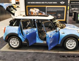 Houston Auto Show – 2015 MINI 4-Door Hardtop Inside and Out in 25 New Photos