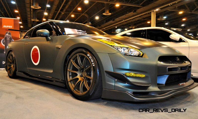 2015 Nissan GT-R in Imperial Japanese Army Zero WarPaint 1