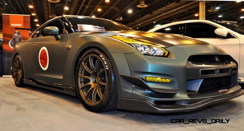 2015 Nissan GT-R in Imperial Japanese Army Zero WarPaint 2