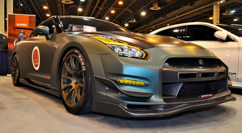 2015 Nissan GT-R in Imperial Japanese Army Zero WarPaint 3