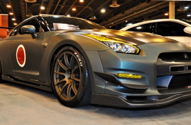 2015 Nissan GT-R in Imperial Japanese Army Zero WarPaint