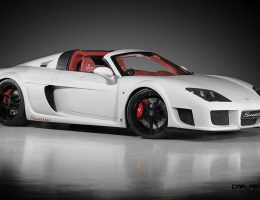 225MPH 2015 Noble M600 Speedster Beats Hypercar Elite to Open-Air Thrills