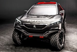 Peugeot 2008 DKR revealed in Nanterre, France on March 28th, 201