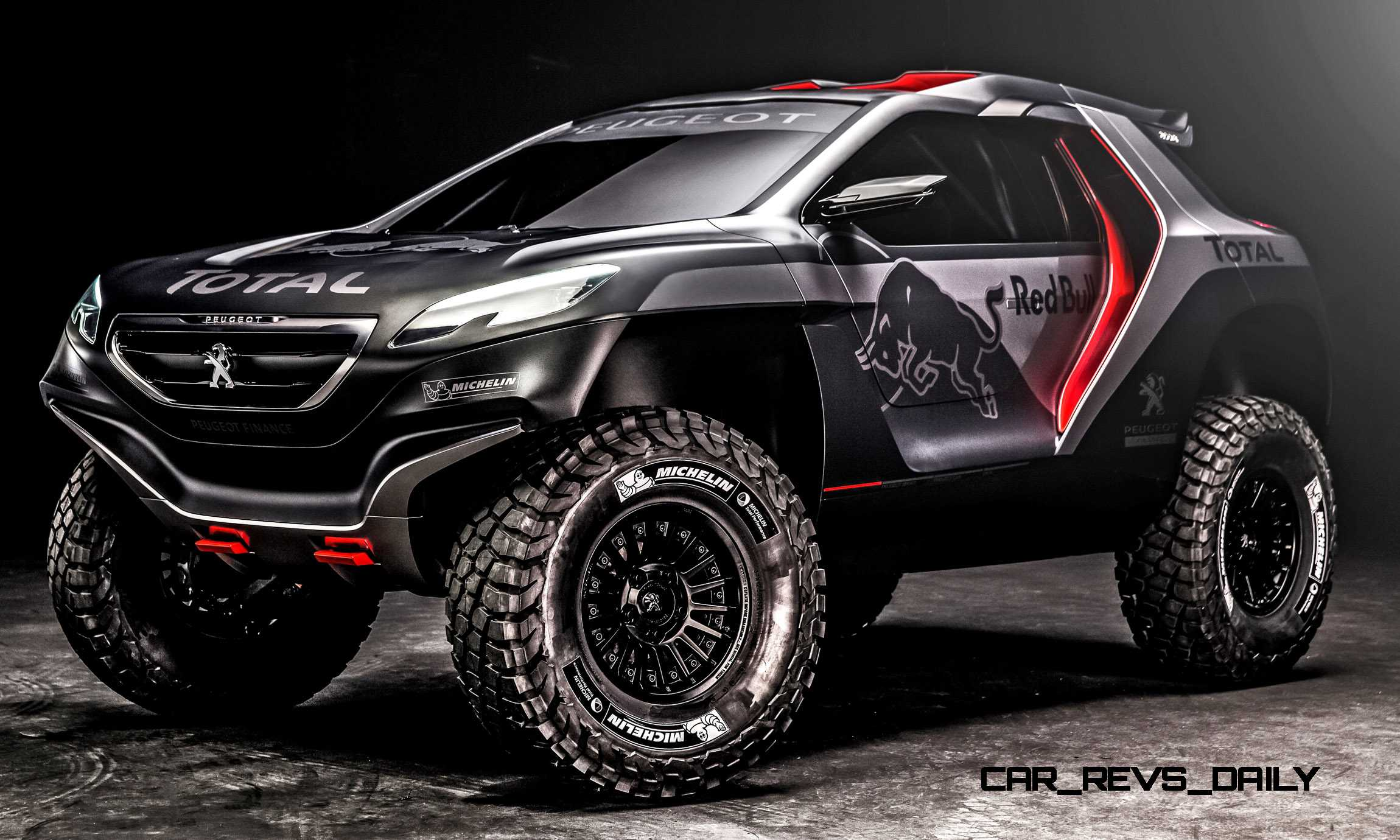 peugeot 2008 dkr revealed in nanterre france on march. Black Bedroom Furniture Sets. Home Design Ideas