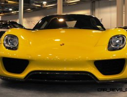 Houston Aftermarket Highlights – 2015 Porsche 918 Spyder Weissach Package with XPEL Paint Protection