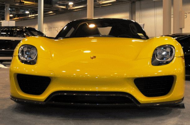 2015 Porsche 918 Spyder Weissach Package with XPEL Paint Protection