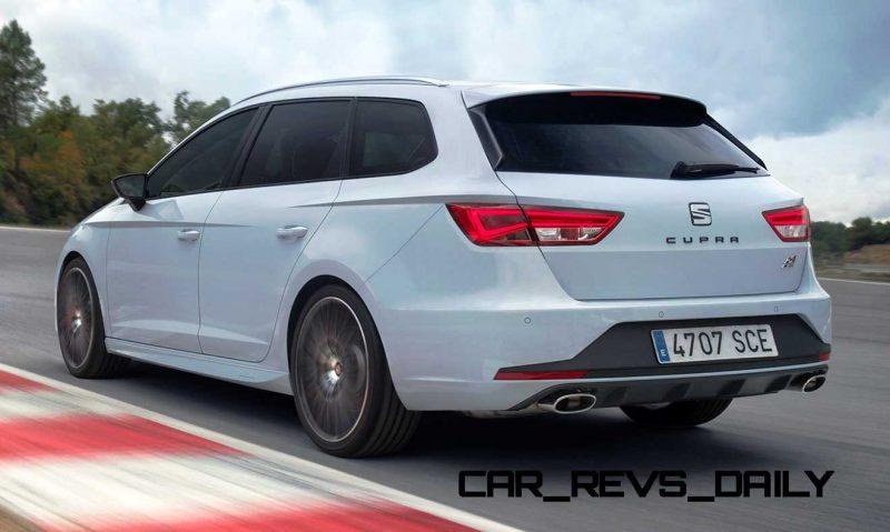 2015 SEAT Leon ST Cupra Dynamic Grey 5