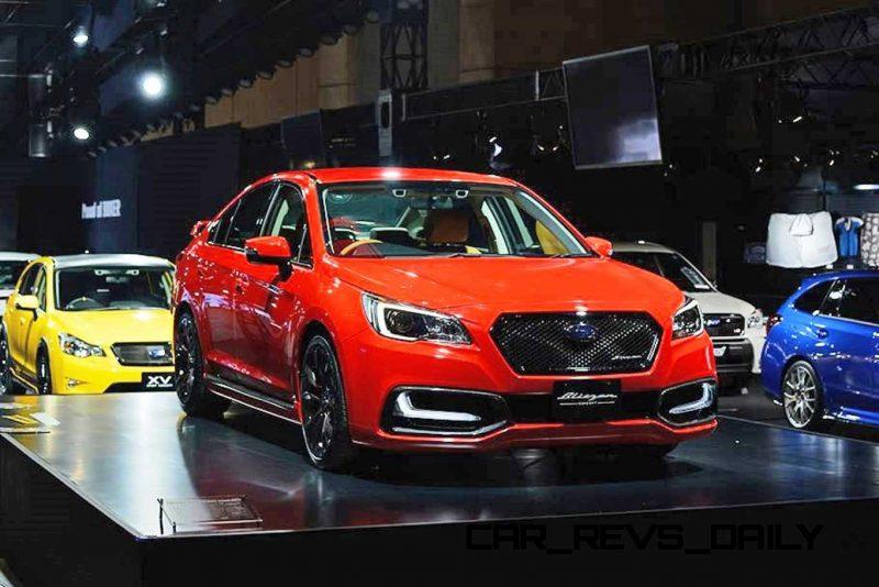 2015 Subaru Legacy B4 BLITZEN Concept 14