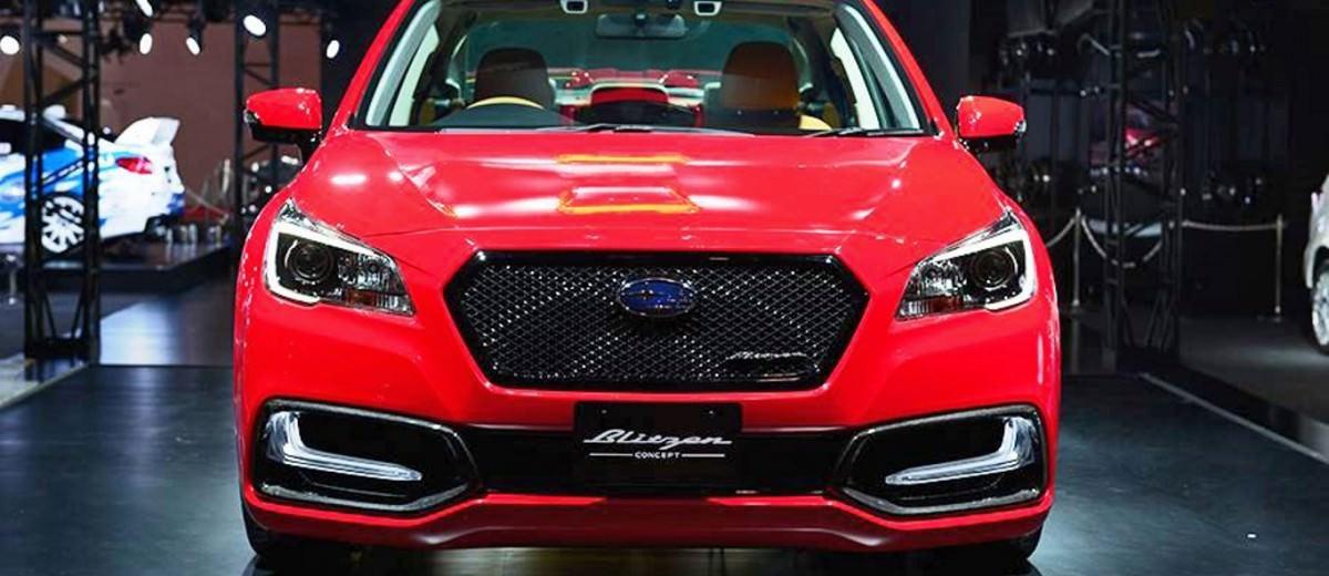 2015 Subaru Legacy B4 BLITZEN Concept 15