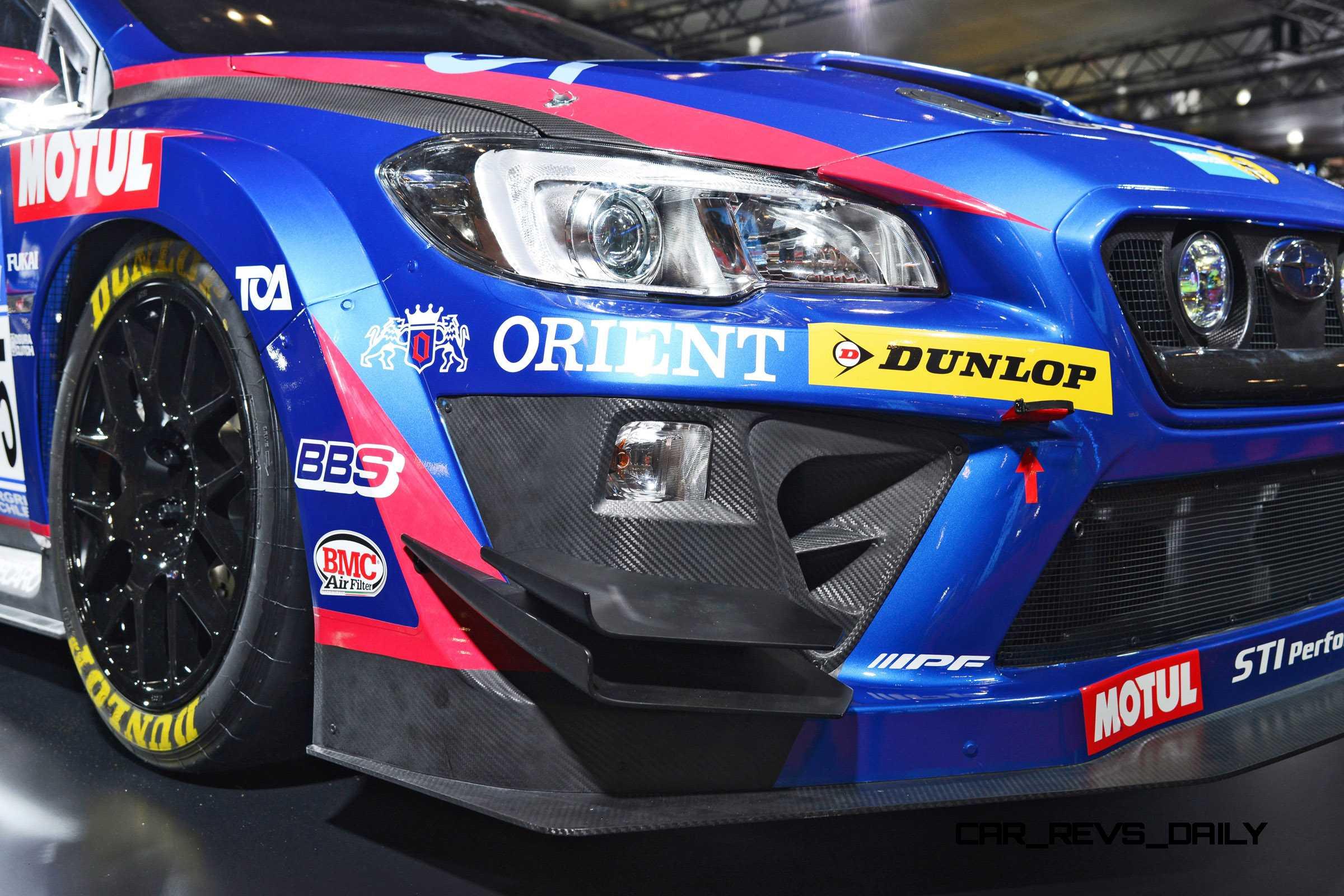 2015 Subaru BRZ GT300 and WRX NBR