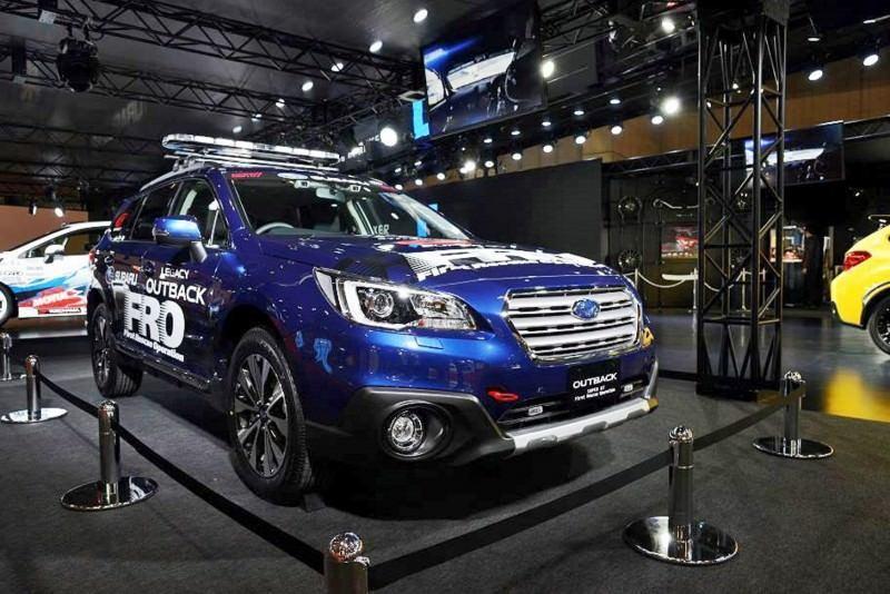 2015 Subaru WRX STi Rally Racecars 12