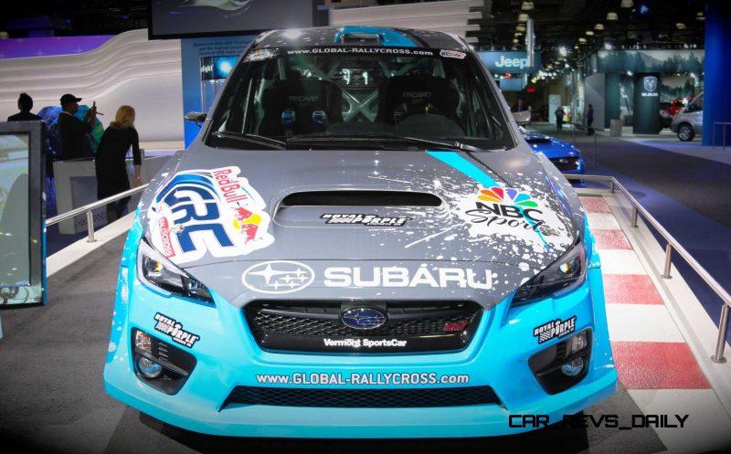 2015 Subaru WRX STi Rally Racecars 23