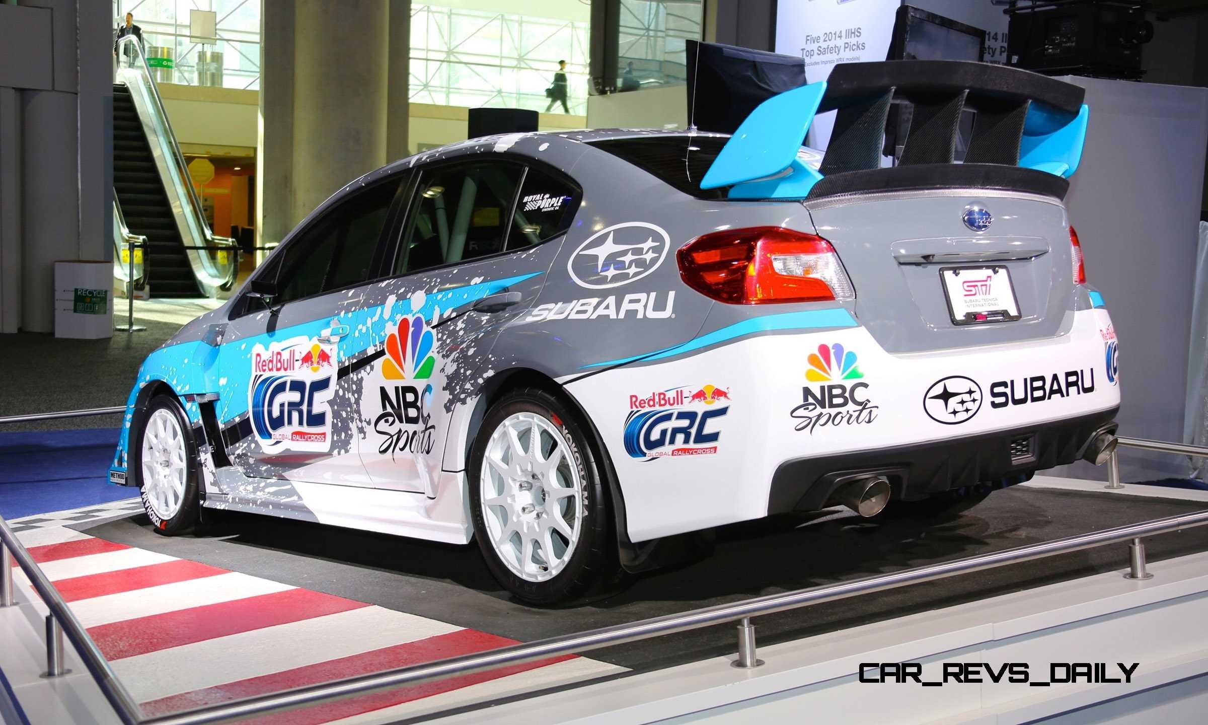 2015 subaru wrx sti rally racecars