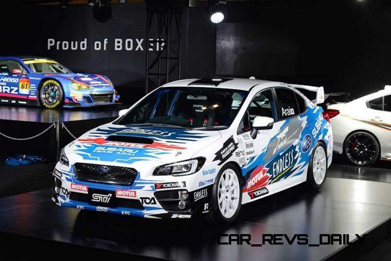 2015 Subaru WRX STi Rally Racecars 28