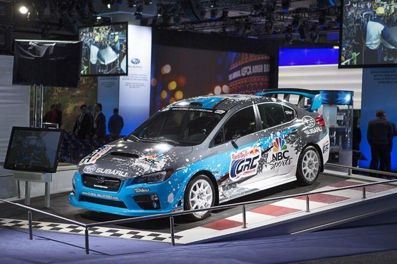 2015 Subaru WRX STi Rally Racecars 4