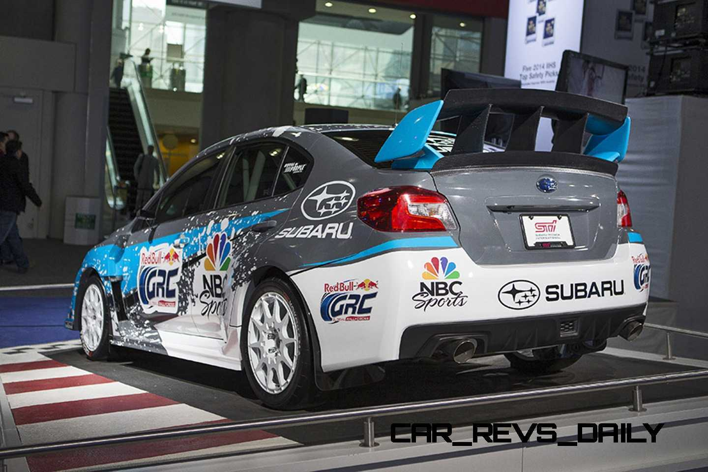 2015 Subaru WRX STi Rally Racecars + Outback SuperGT First Rescue ...