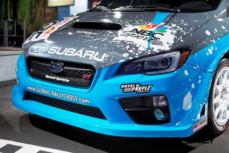 2015 Subaru WRX STi Rally Racecars 6