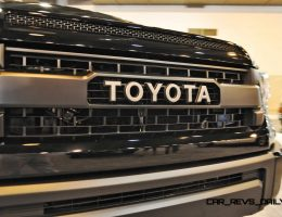 Houston Auto Show – 2015 Toyota Tundra TRD Pro In Black/Black