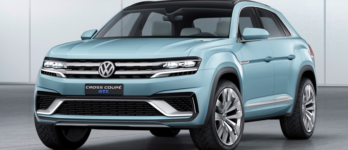 2015 Volkswagen Cross Coupe GTE 1