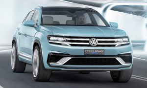 2015 Volkswagen Cross Coupe GTE 4