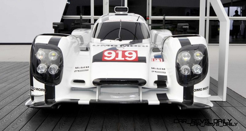 2015 vs 2014 Porsche 919 Hybrid - LMP1 Racers Compared 10