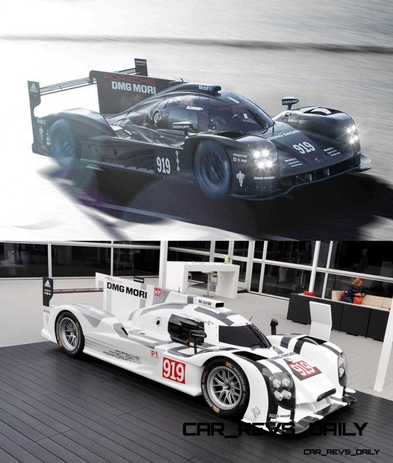 2015 vs 2014 Porsche 919 Hybrid - LMP1 Racers Compared 4