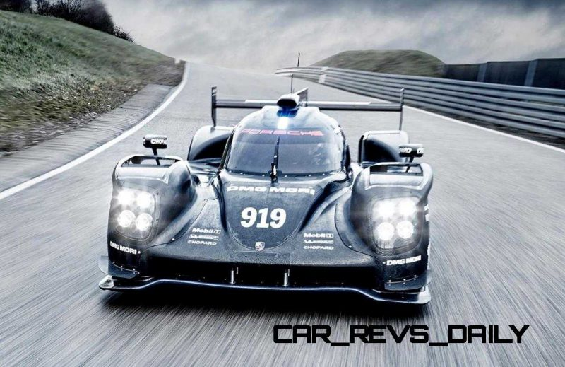 2015 vs 2014 Porsche 919 Hybrid - LMP1 Racers Compared 6